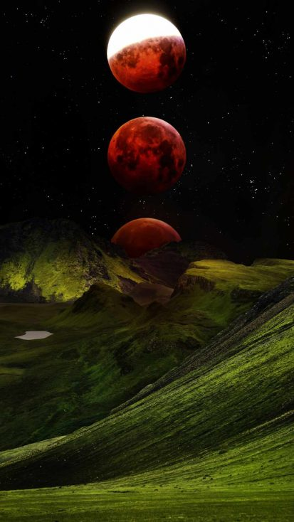 Red Moon Mountains