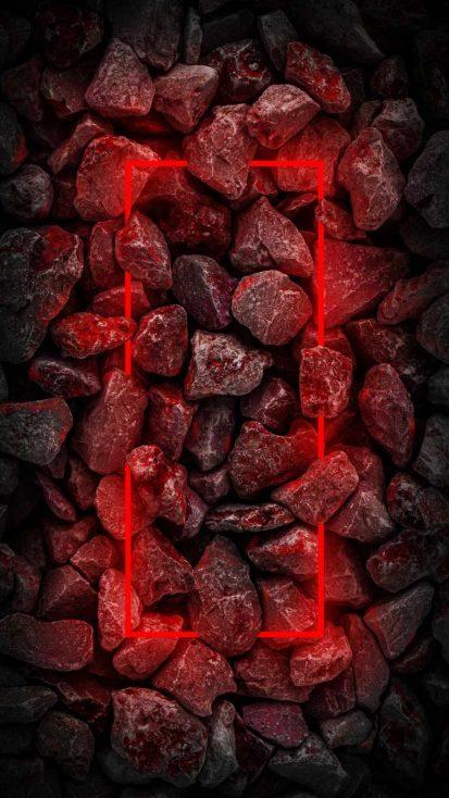 Red Neon Stones