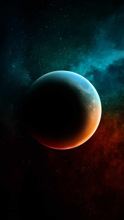 Shadow Planet iPhone Wallpaper