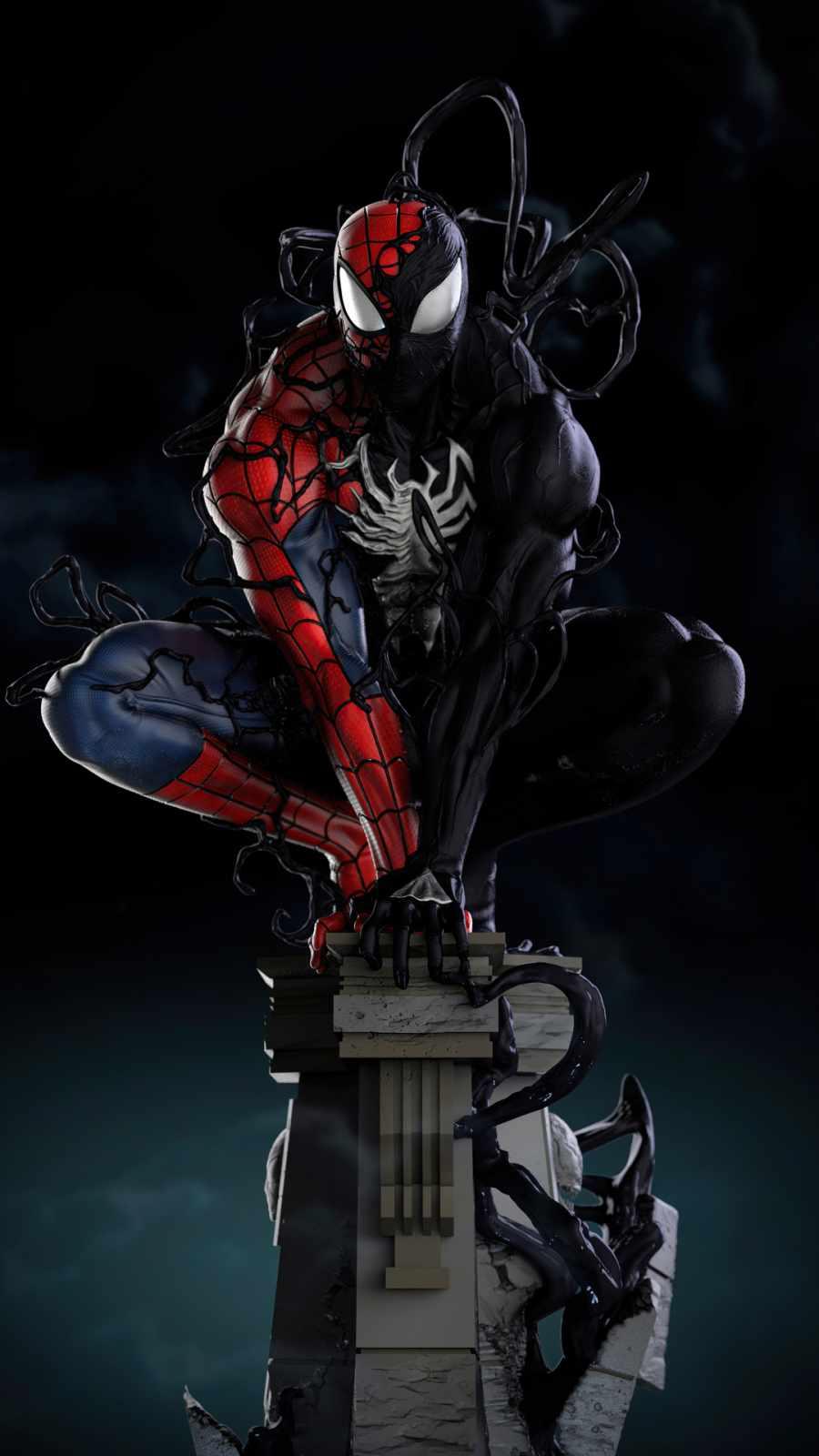 Spiderman Symbiote Transformation