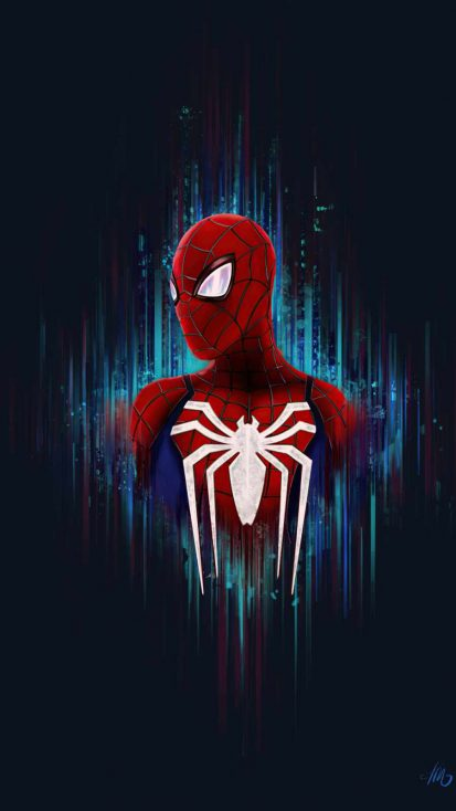 Spidey iPhone Wallpaper