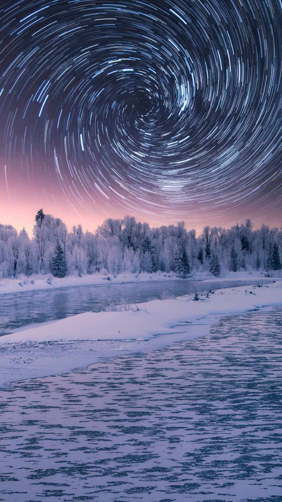 Spiral Sky Winter