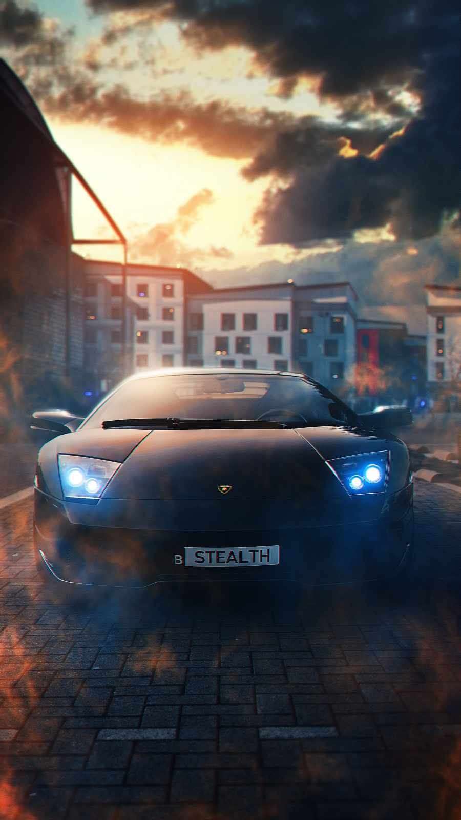 Stealth Lamborghini
