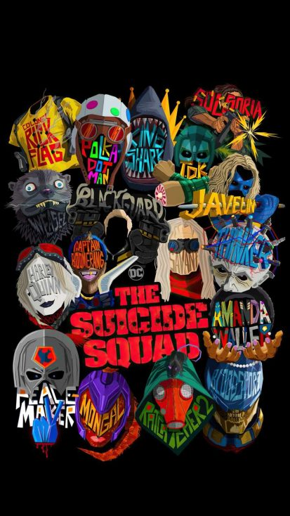 The Suicide Squad Dark Poster