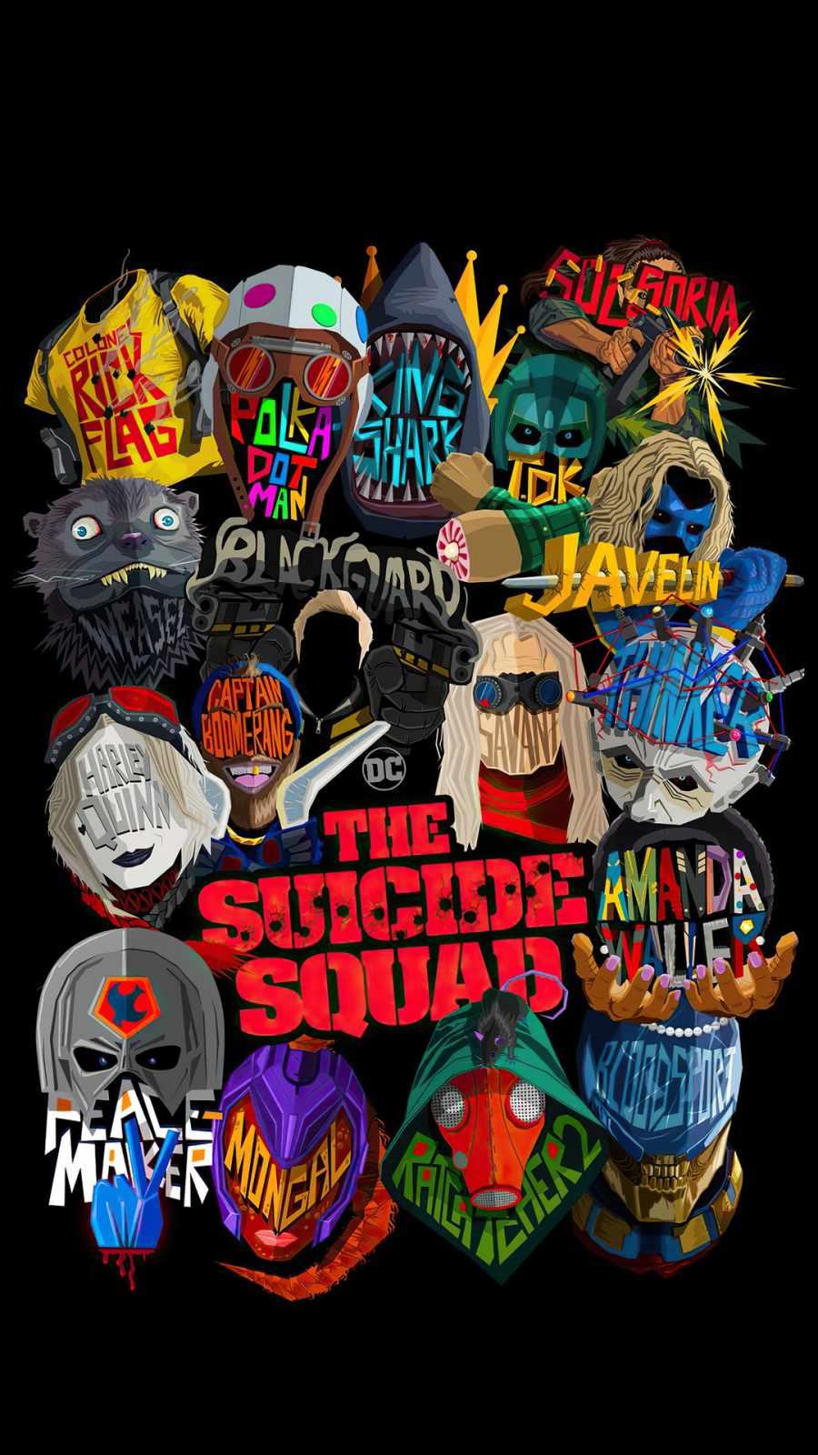 The Suicide Squad Dark Poster