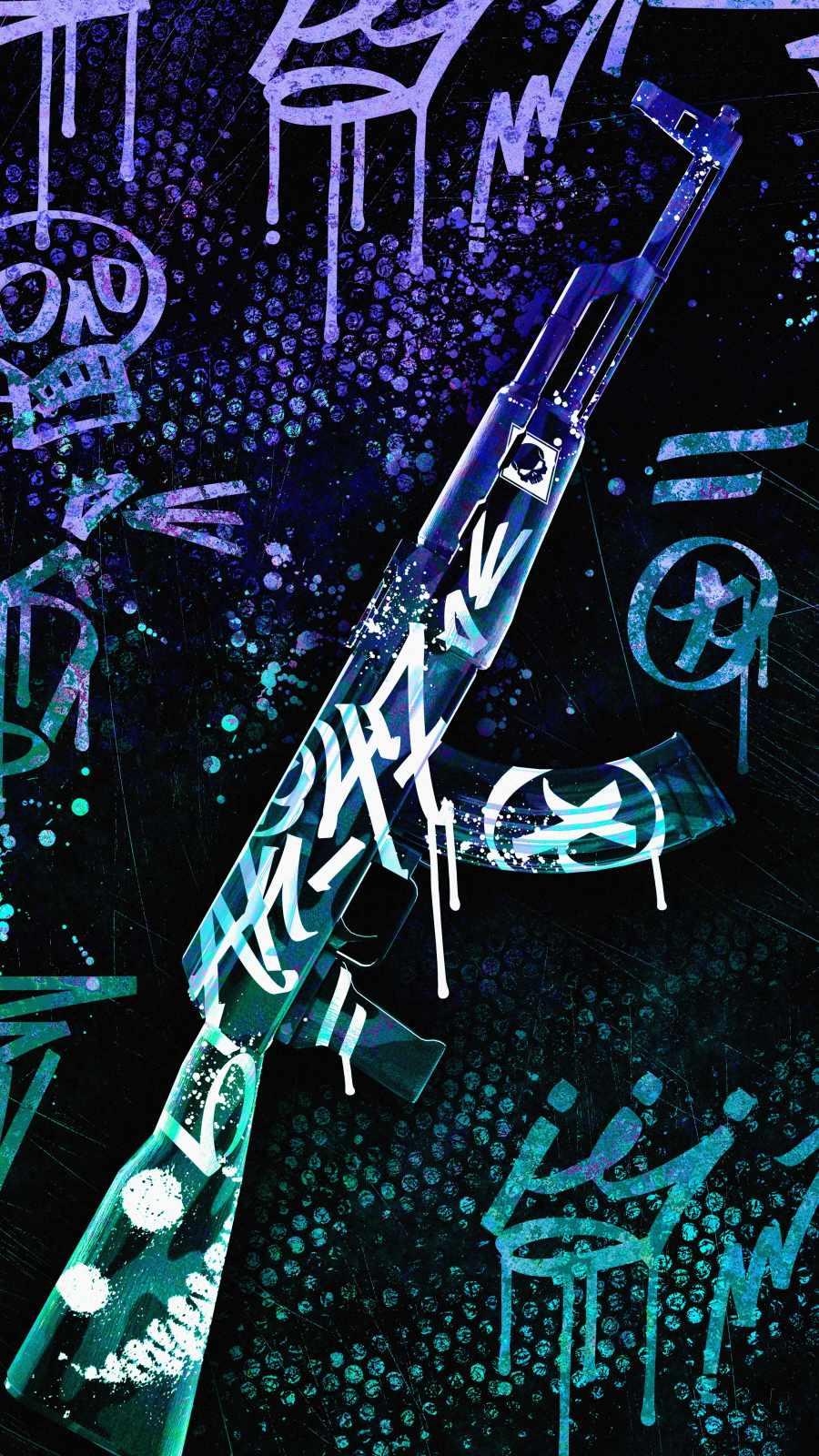 Weapon Art iPhone Wallpaper