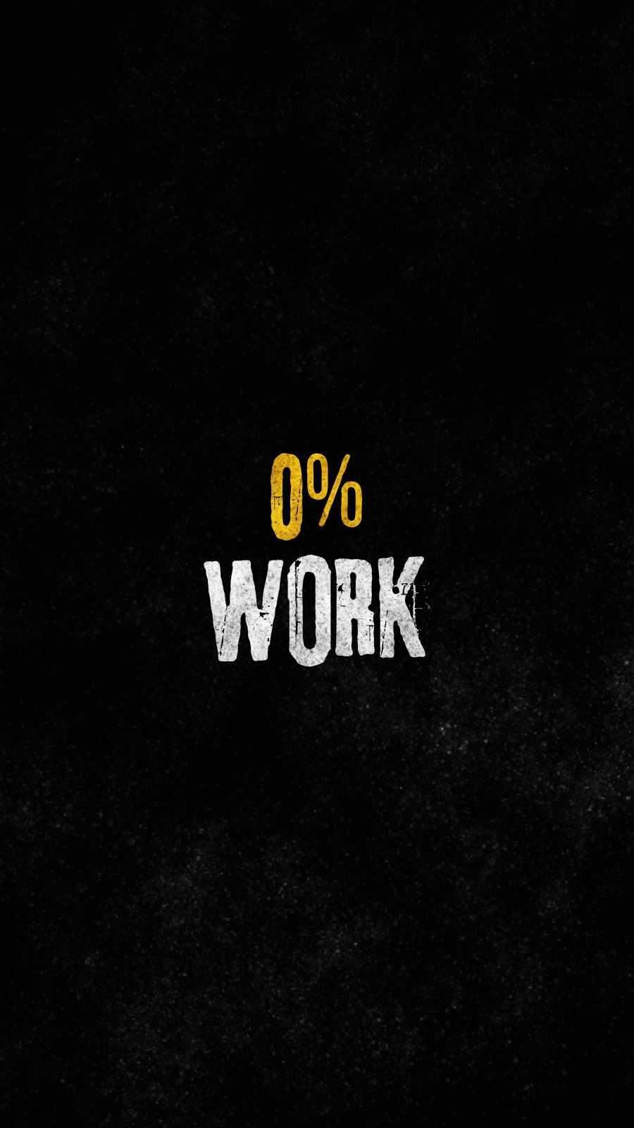 Work iPhone Wallpaper