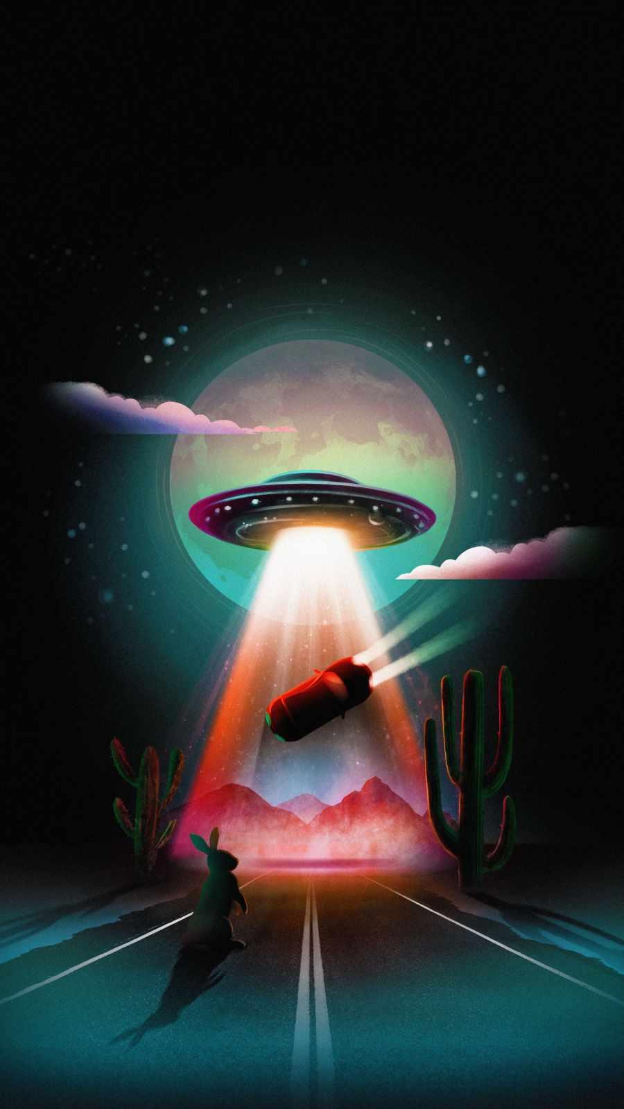 Alien Abduction Wallpaper