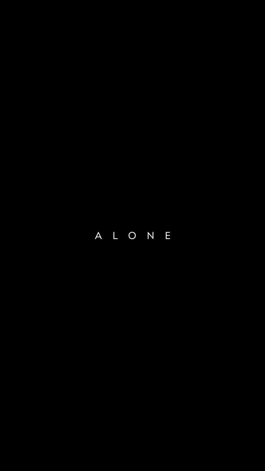 Alone Wallpaper