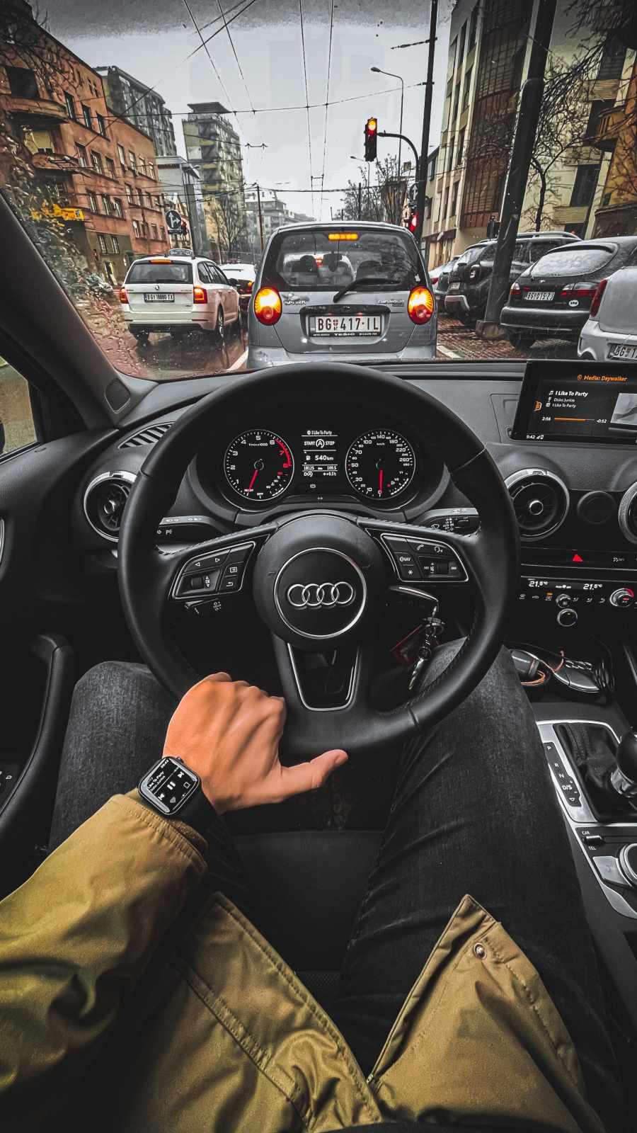 Audi Interior iPhone Wallpaper