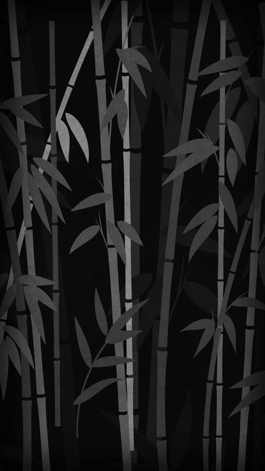Bamboo Trees Minimal