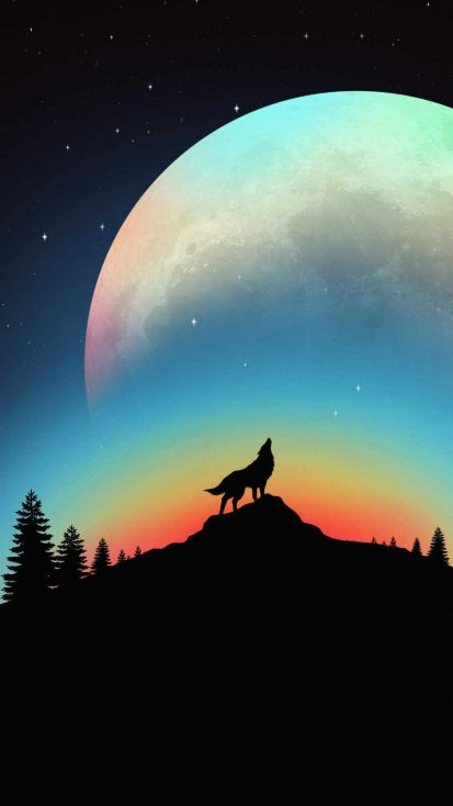 Big Moon Wolf Hawl