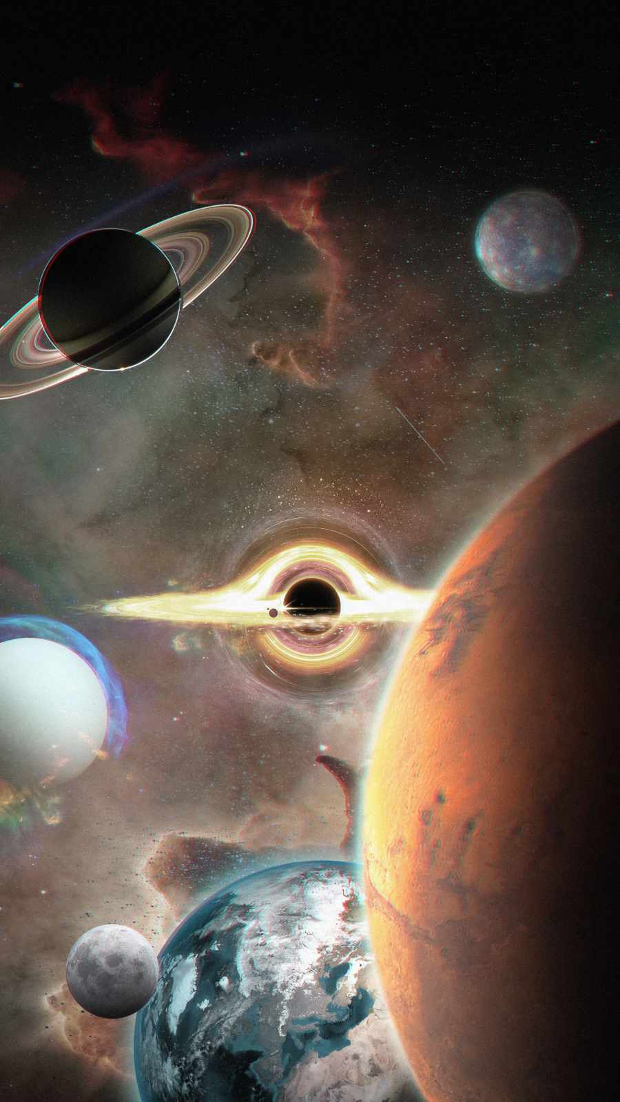 Black Hole Planets