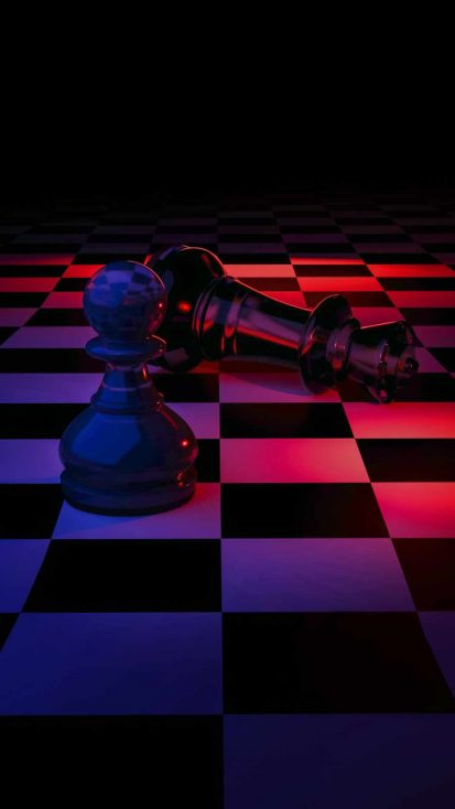 Chess Game iPhone Wallpaper