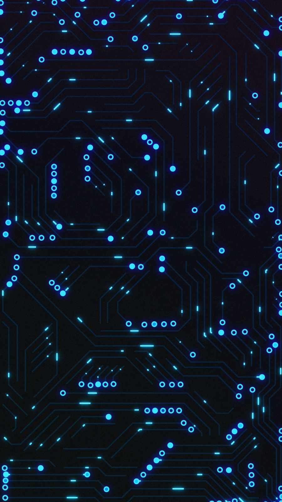 Circuit Board iPhone Wallpaper