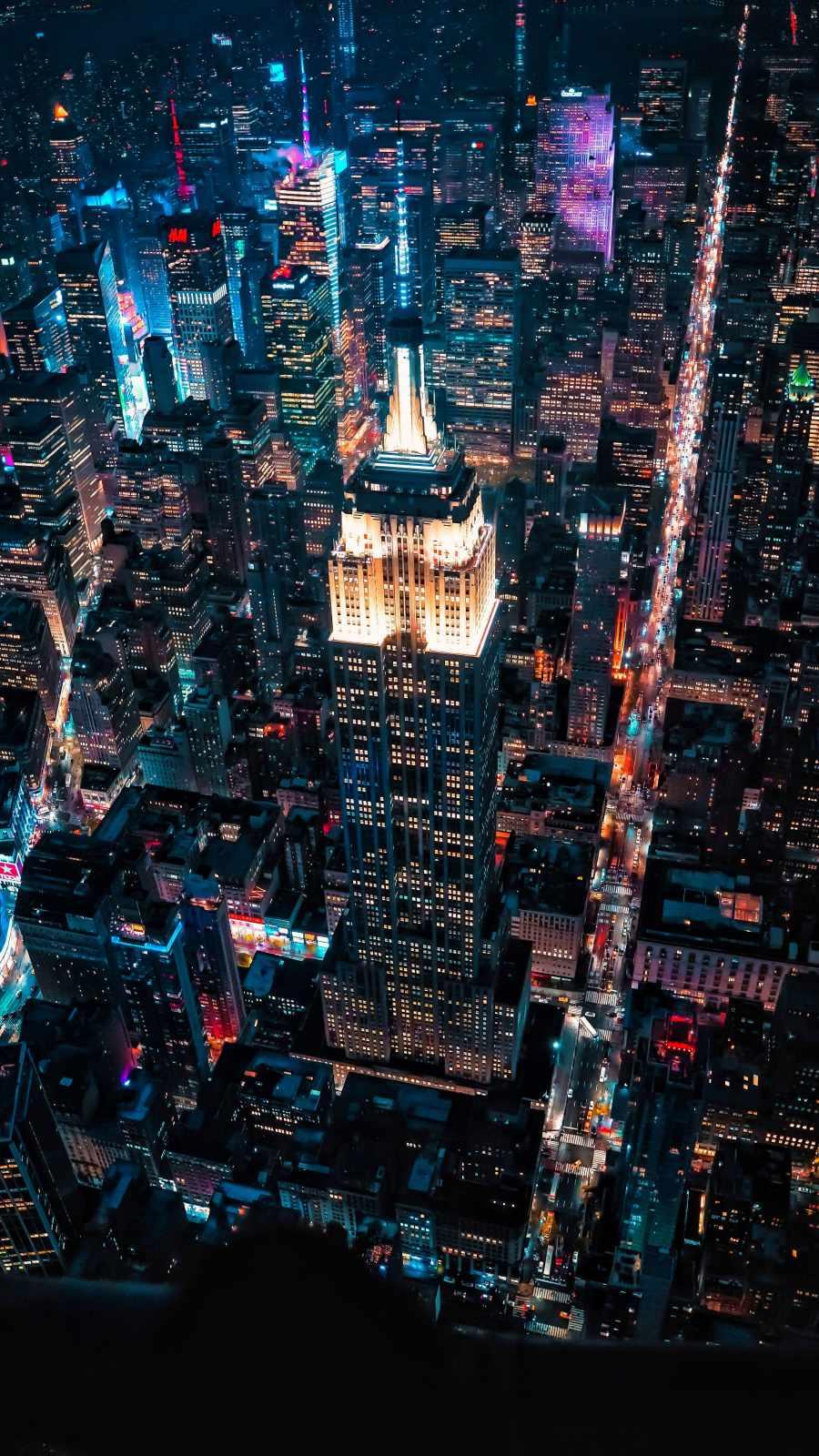 Citylights in Night