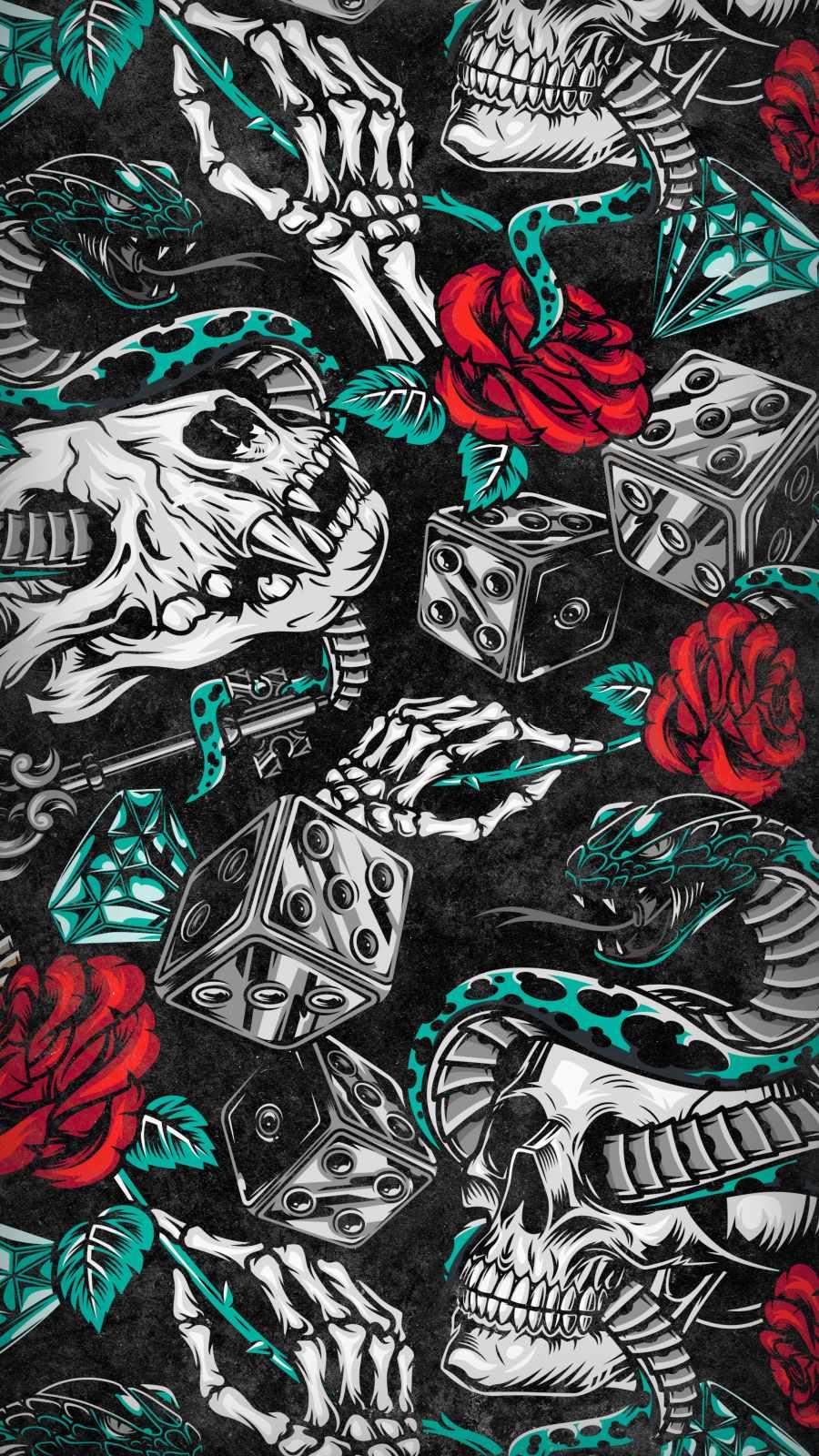 Dangerous Art iPhone Wallpaper