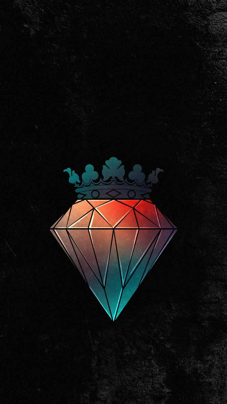 Diamond King iPhone Wallpaper