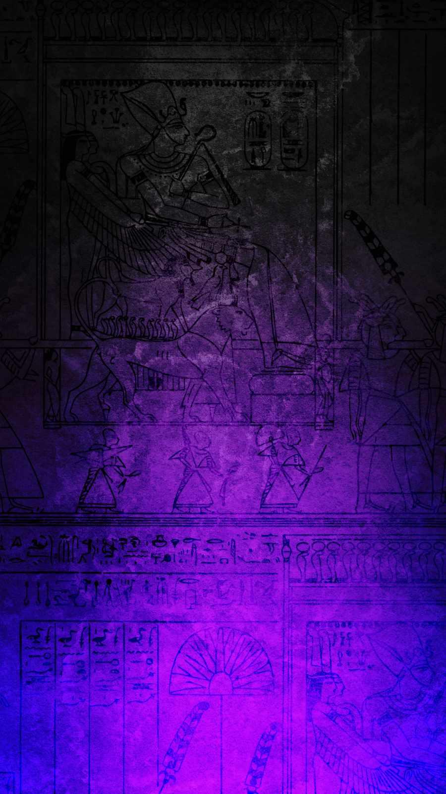 Egypt Art iPhone Wallpaper