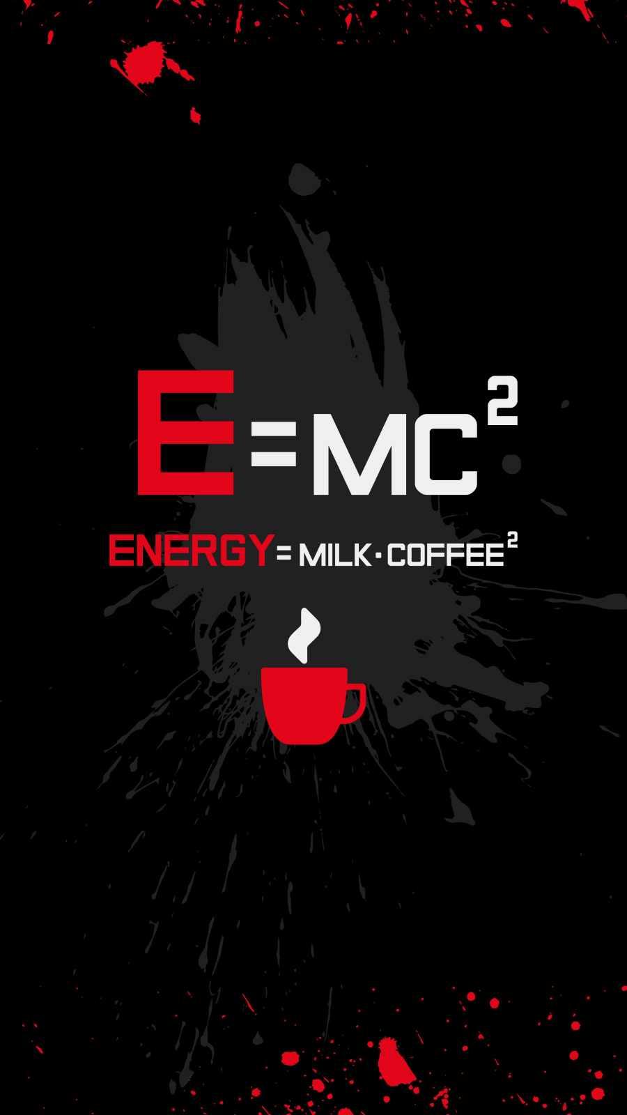 Energy Formula iPhone Wallpaper