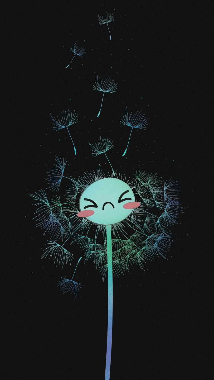 Flower Dandelion iPhone Wallpaper