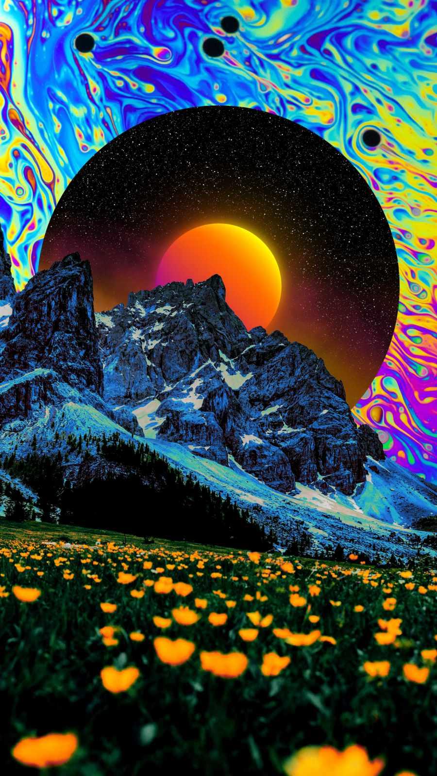 Follow The Light iPhone Wallpaper