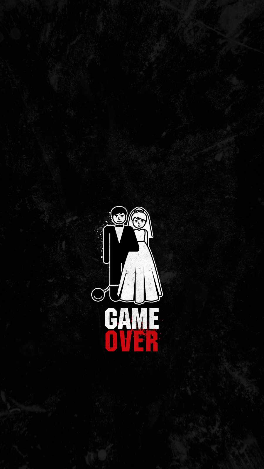 Game Over iPhone Wallpaper
