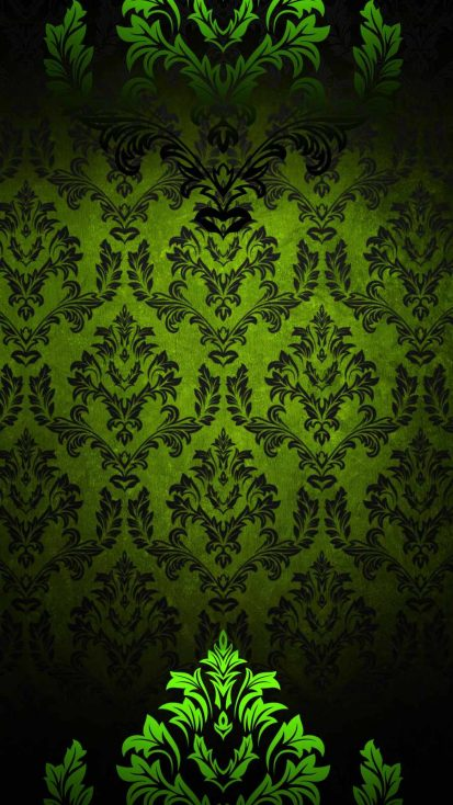 Green Design iPhone Wallpaper