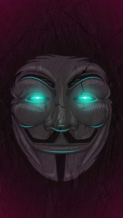 Hacker Mask Neon