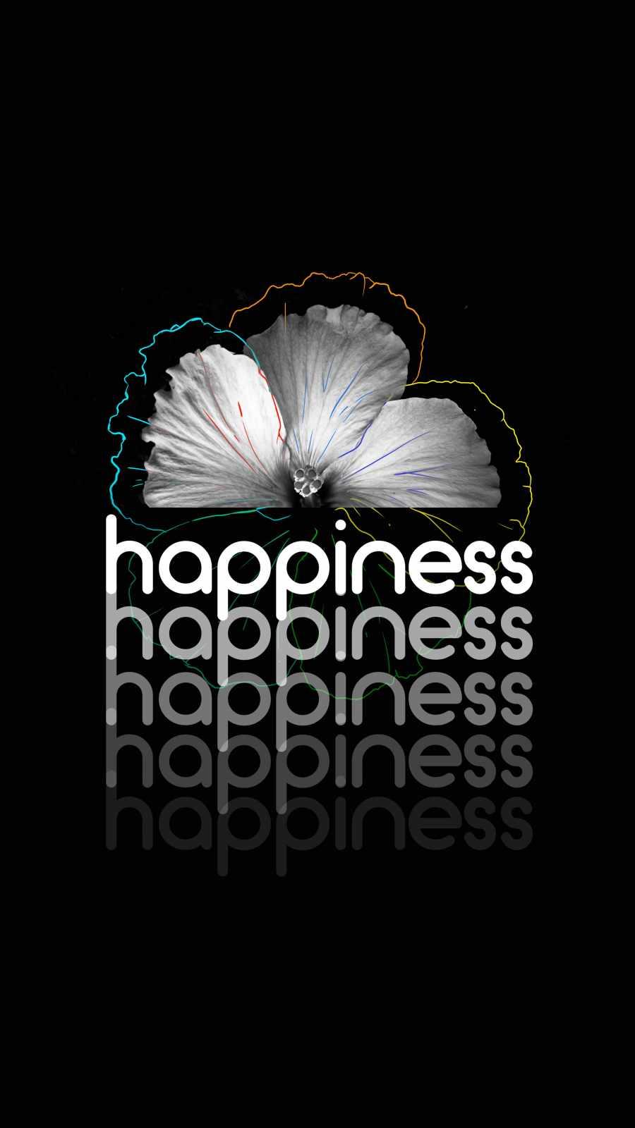 Happiness iPhone Wallpaper