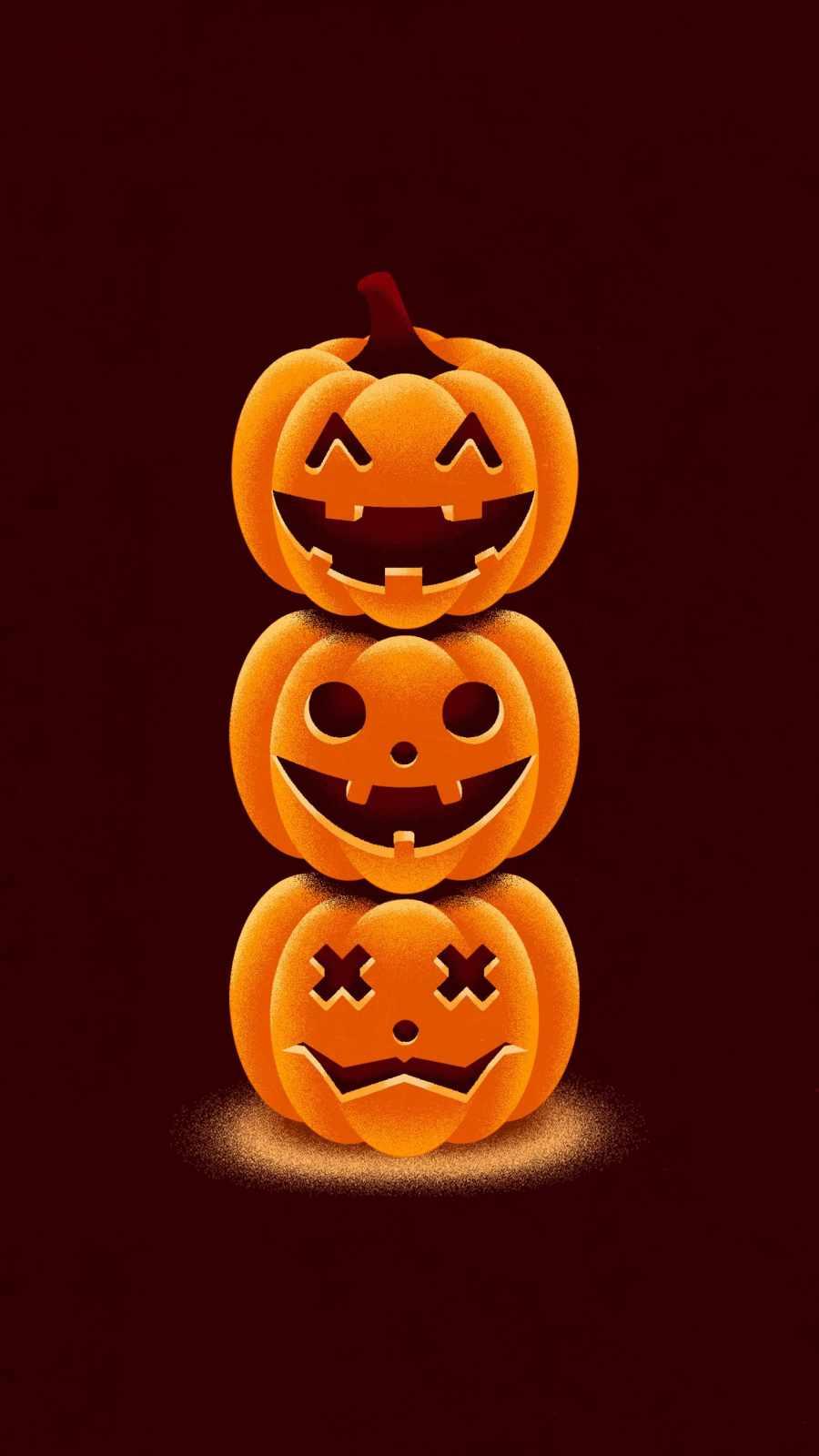 Hello Pumpkins iPhone Wallpaper