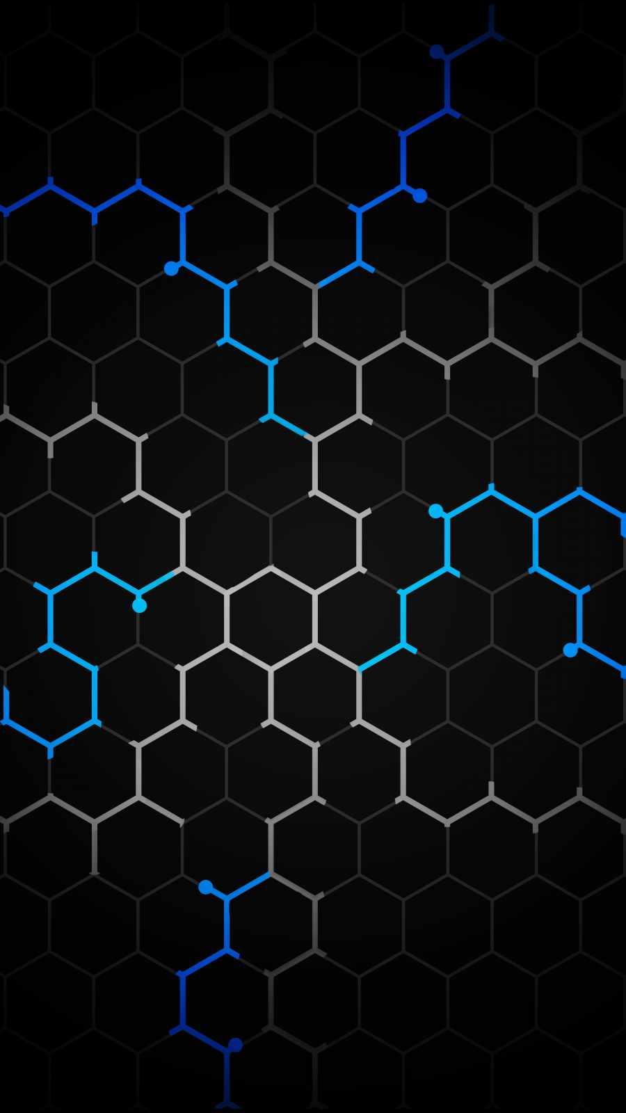 Hexagon Design iPhone Wallpaper
