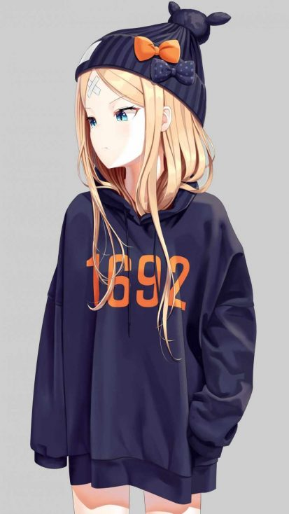 Hoodie Anime Girl