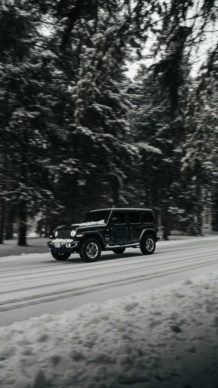 Jeep Wrangler Snow
