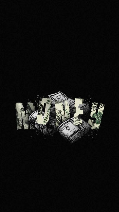 Money Art iPhone Wallpaper