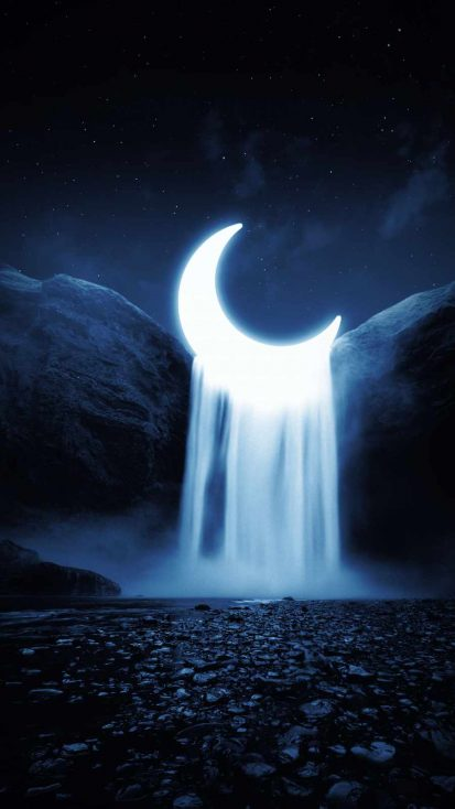 Moon Waterfall