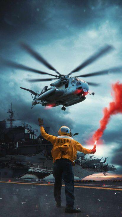 Navy iPhone Wallpaper