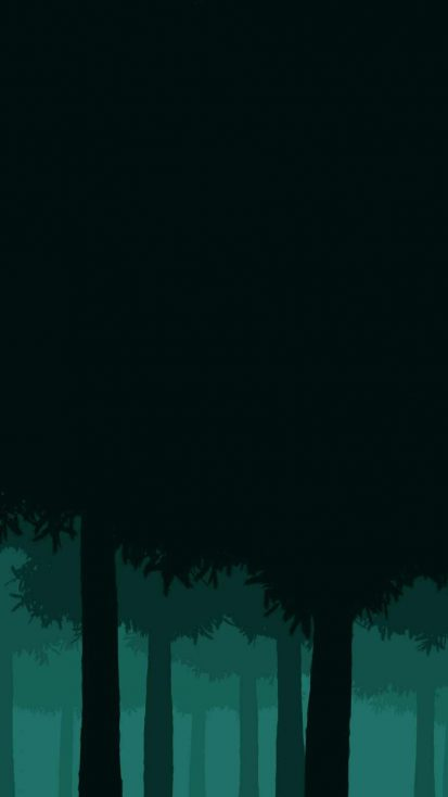Pine Forest iPhone Wallpaper