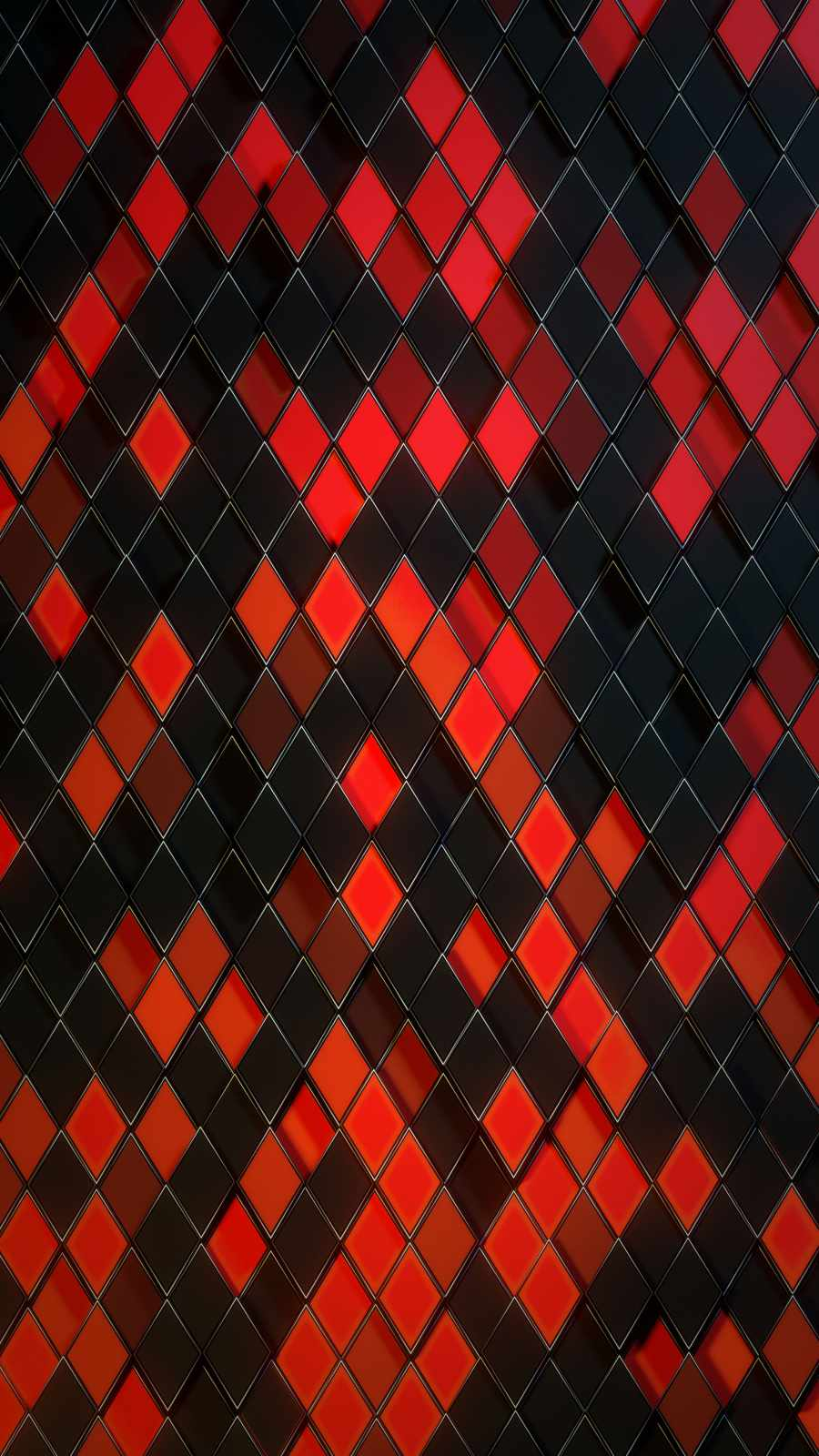 Red Pattern iPhone Wallpaper