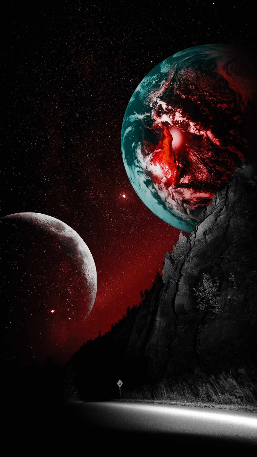 Red Planet from Earth