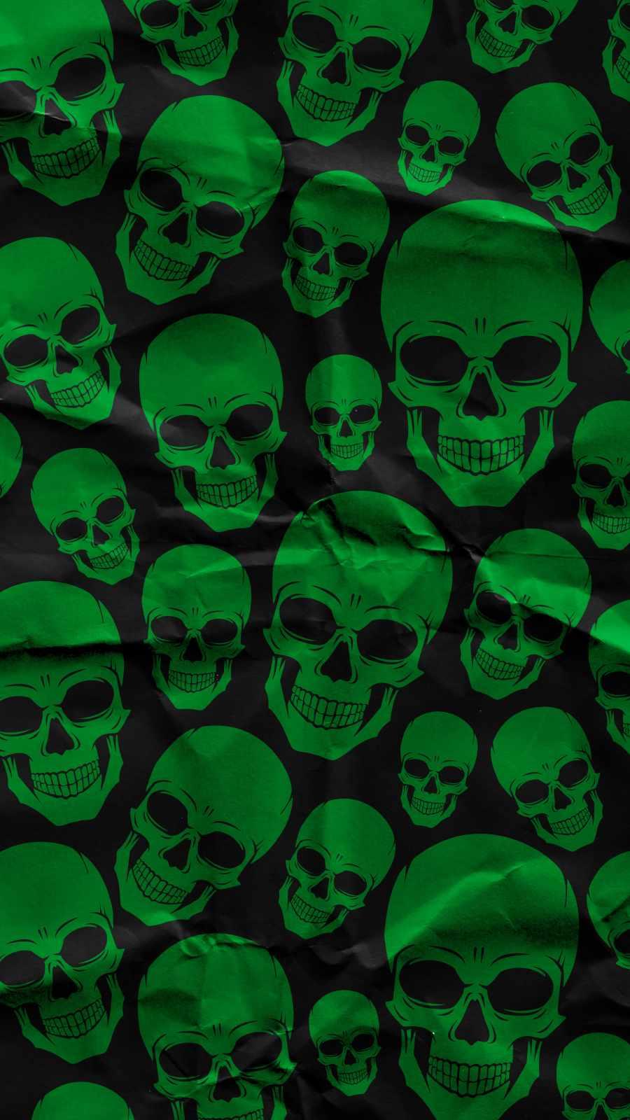 Skull Pattern Art