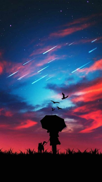 Sky Sunset Watching