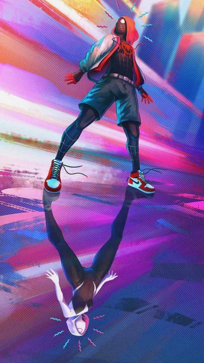 Spiderman Miles Art