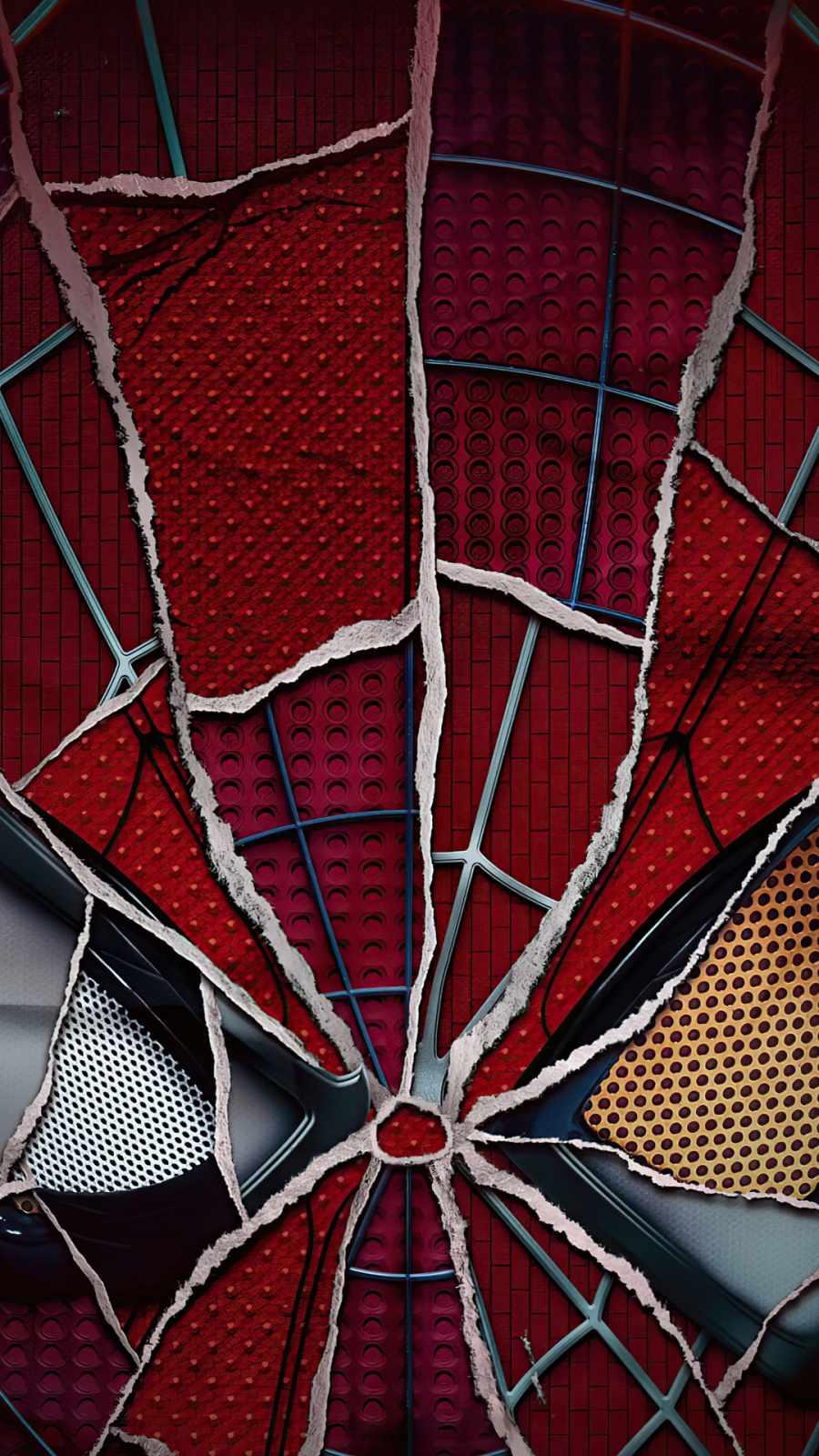 Spiderman no way Home Broken mask