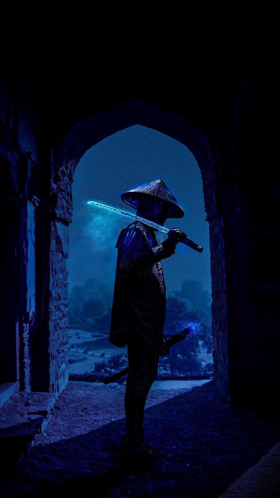 Sword Ninja iPhone Wallpaper