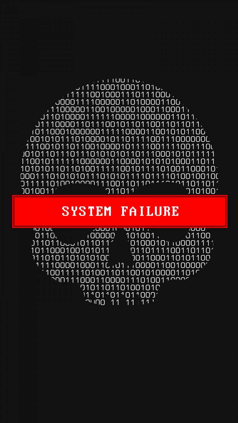 System Failure iPhone Wallpaper