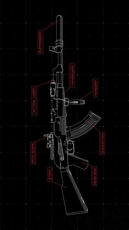 AK 47 Anatomy