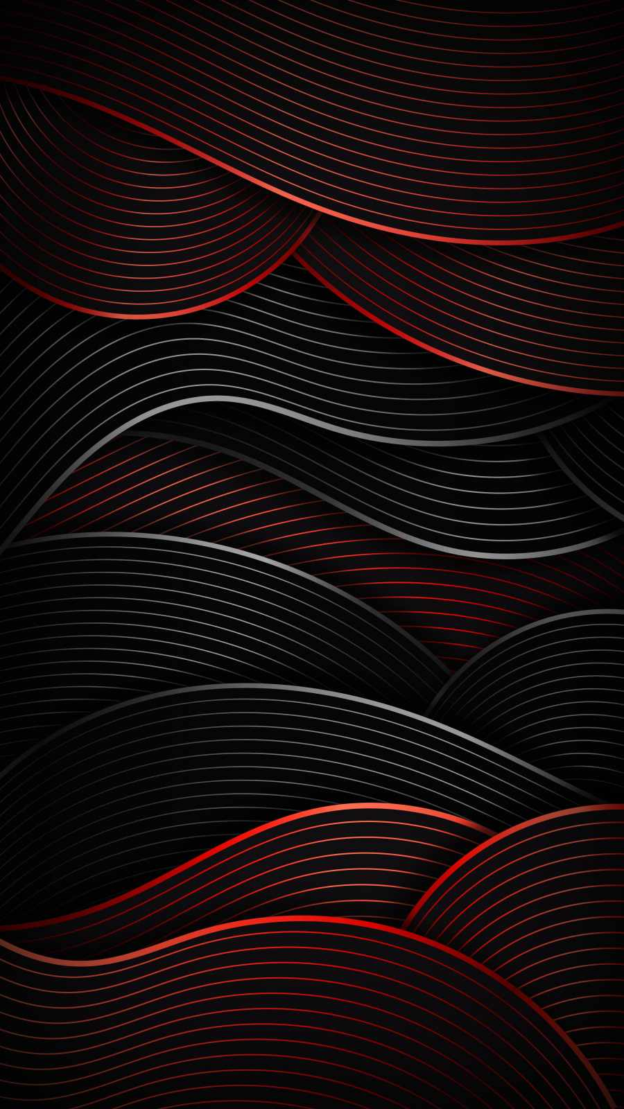 Abstract Waves iPhone Wallpaper