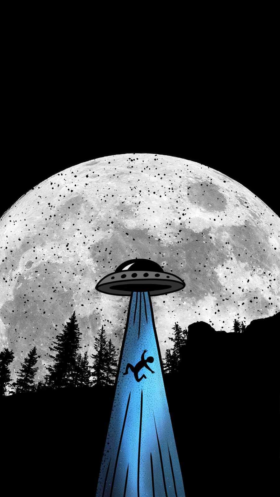 Aliens iPhone Wallpaper