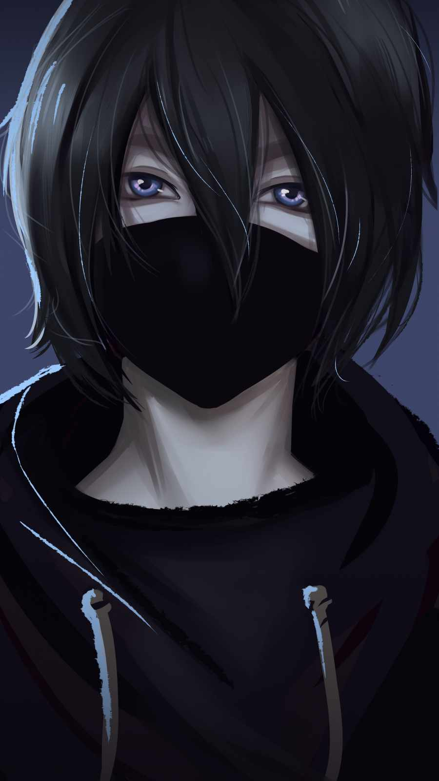 Anime Boy Masked
